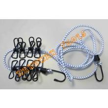 Elastic Bungee Cord With Metal Clips For Clothesline