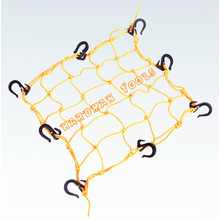 15 Inch X 15 Inch Cargo Net With Plastic Hooks