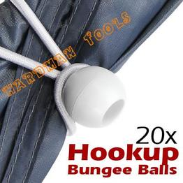 11'' White Ball Bungee Cord
