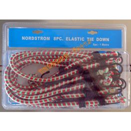8PC Elastic Tie Downs