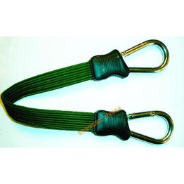 Snap Hook Fat Bungee Cord In Olive Drab