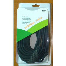 Elastic Shock Cord Bungee Rope 8mm Black 10m 15m 20m