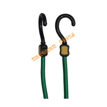Double Color Steel Hook Bungee