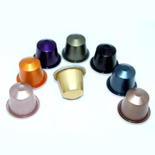Aluminum Nespresso Compatible Capsule Quotation