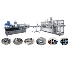 Newest China Kcup Coffee Capsule Packing Line