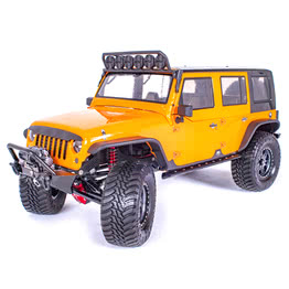 Traction Hobby Founder 4WD off road electric 1/8 large Scale Trail rc Crawler orange truck