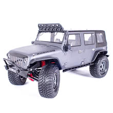 Traction Hobby Founder 4WD off road electric 1/8 large Scale Trail rc Crawler grey rc car