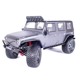 Traction Hobby Founder 4WD off road electric 1/8 large Scale Trail rc Crawler grey truck