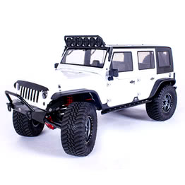Traction Hobby Founder 4WD off road electric 1/8 large Scale Trail rc Crawler white truck