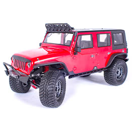 Traction Hobby Founder 4WD off road electric 1/8 large Scale Trail rc Crawler red truck
