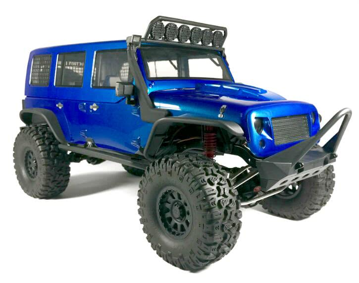 Traction Hobby Cragsman Off Road Electric 1 8 Scale Trail Rc Crawler Blue Truck Tractionhobby
