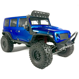 Traction Hobby Cragsman off road electric 1:8 Scale Trail rc Crawler blue truck
