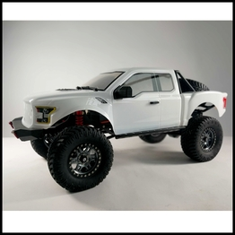 Traction Hobby Founder C 4WD off road electric 1:8 large Scale Trail rc Crawler white truck Version