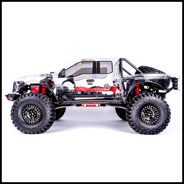 Tractionhobby-Cragsman C off road electric 1:8 Scale Trail rc Crawler truck Version Two-Cragsman