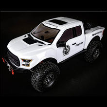 Traction Hobby Cragsman C Ford Raptor F150 rc crawler White