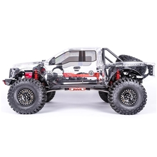 Traction Hobby Cragsman C Ford Raptor F150 rc crawler clear