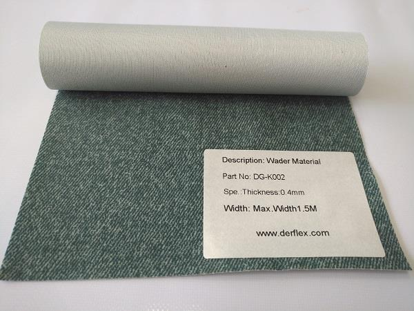 DG-K002: Wader Material, thickness 0.4mm