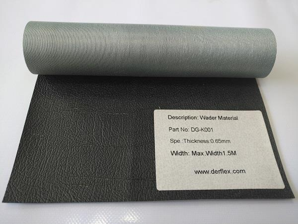 DG-K001: wader material, thickness 0.65mm