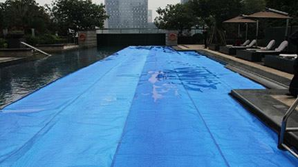 winter XPE pool cover