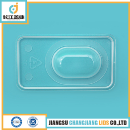 combination cap for plastic infusion container