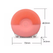 Electric  Silicone Sponge Face Wash Cleaning Brush