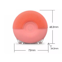Electric Soft Silicone Sponge Face Wash Cleaning Brush