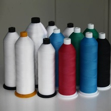 Yuanchen polyester sewing thread for clothes high quality raw white 40s 2