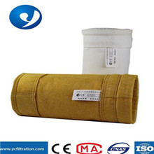 Yuanchen high temperature resistance for coking industry use PTFE Compound polyamide dust filter bag