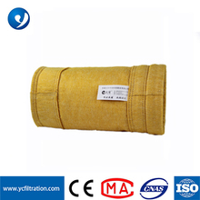 YC for heavy industry PTFE compound P84 PTFE fiber nonwoven filter bag