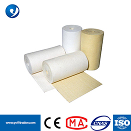 PPS Mixed with PTFE Baghouse Dust Collector Filter Bags Nomex Felt 550gsm PTFE Membrane