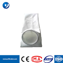 Polyester Dust Collector Filter Bag with PTFE Coating for Power with free sample dust collector filter bags