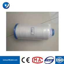 35-45N Breaking Strength High Temperature Resistant PTFE Sewing Thread for Filter Bag ptfe thread thread for filter bag