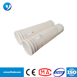 PPS Fiber Needle Felt Filter Bag Filter Sleeve with High Temperature Fibers