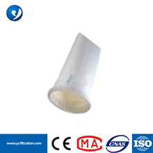 PPS+PTFE Calendering Singed Heat-set Non Woven Filter Bag for Dust Filter