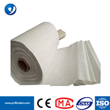 51-75MM PTFE Antistatic Superfine Fiber Nonwoven Filter Bag Fabric Cloth Dust air filter baghouse Dust Filtration Media