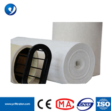 2.2-2.5mm Thickness Fiberglass Dust Filter Sleeves Fabric