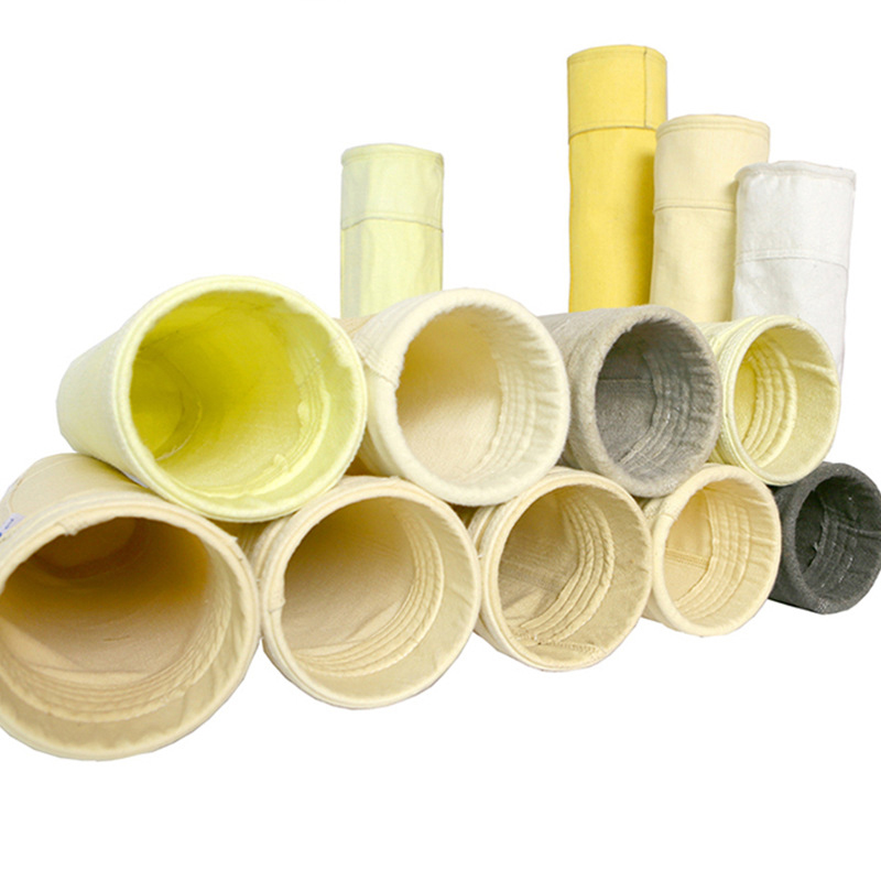 Dust Collector Waterproof PTFE Coated Fiberglass Filter Bag