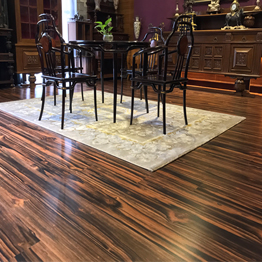 natural wood flooring