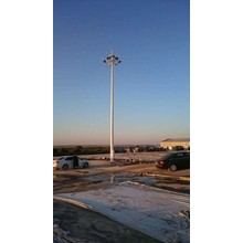 10m 20m 25m 30m high mast lighting poles specification flood light tower