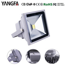 5000 lumen LED flood light 50w for building outdoor lighting