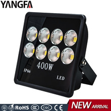 Powerful high mast pole lighting 400 watt 400w LED flood light