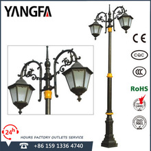 outdoor lighting lamp for garden & street with pole D2377