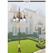 new premium brass landscape lighting outdoor garden pole lighting antique street light poles