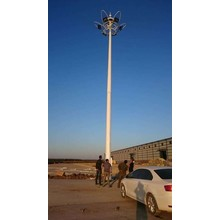 25m flood light poles