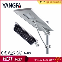 YANGFA Heat dissipating waterproof 60w solar street light led AS01 60W