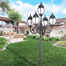 antique European-style high power led garden light
