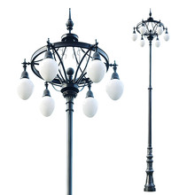hot selling decorative antique garden light post sky garden lamp
