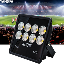 Aluminium housing ip65 outdoor cob 400w 400 watt led flood light