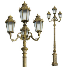 ip55 decorative antique outdoor garden light pole