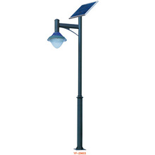 pole lighting mushroom solar lights for garden